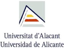 University of Alicante – Fall Semester in Spain – Sept to December  (16 Weeks) – 1,779 Euros